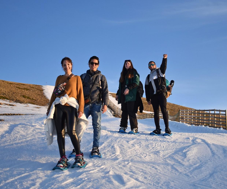 Snowshoe Hiking in Sierra Nevada 4