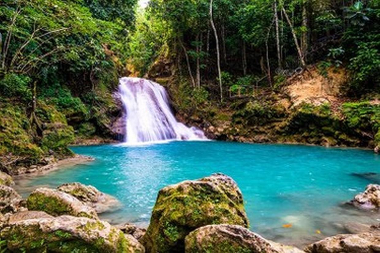 Blue Hole Secret Falls Adventure 1