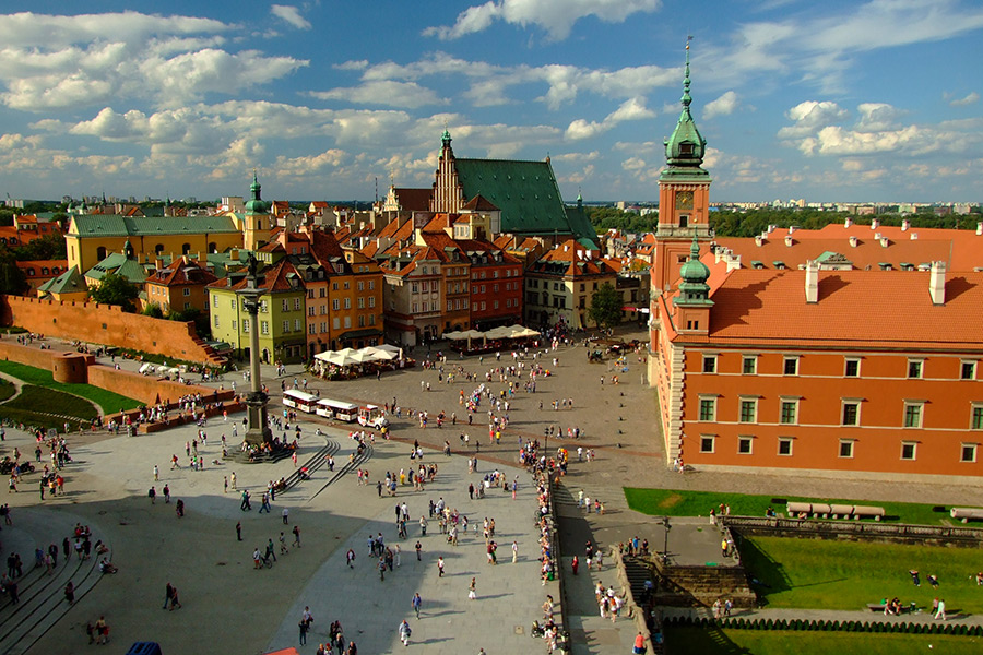 Royal Castle with Warsaw Old Town + POLIN Museum 1