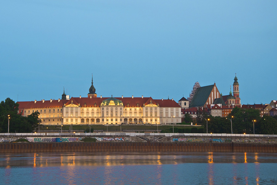 Royal Castle with Warsaw Old Town + Wilanow Palace of King Jan III Sobieski 5
