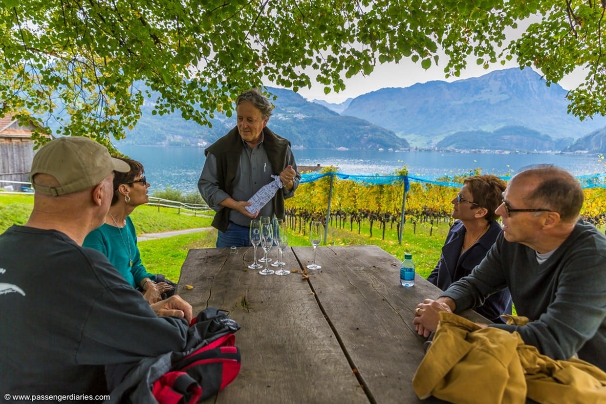 Lucerne Wine Tasting Tour by Lake Lucerne in a Traditional Winery 5