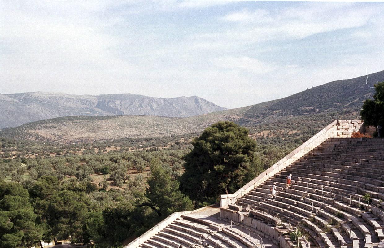 Ancient Theater in Epidaurus