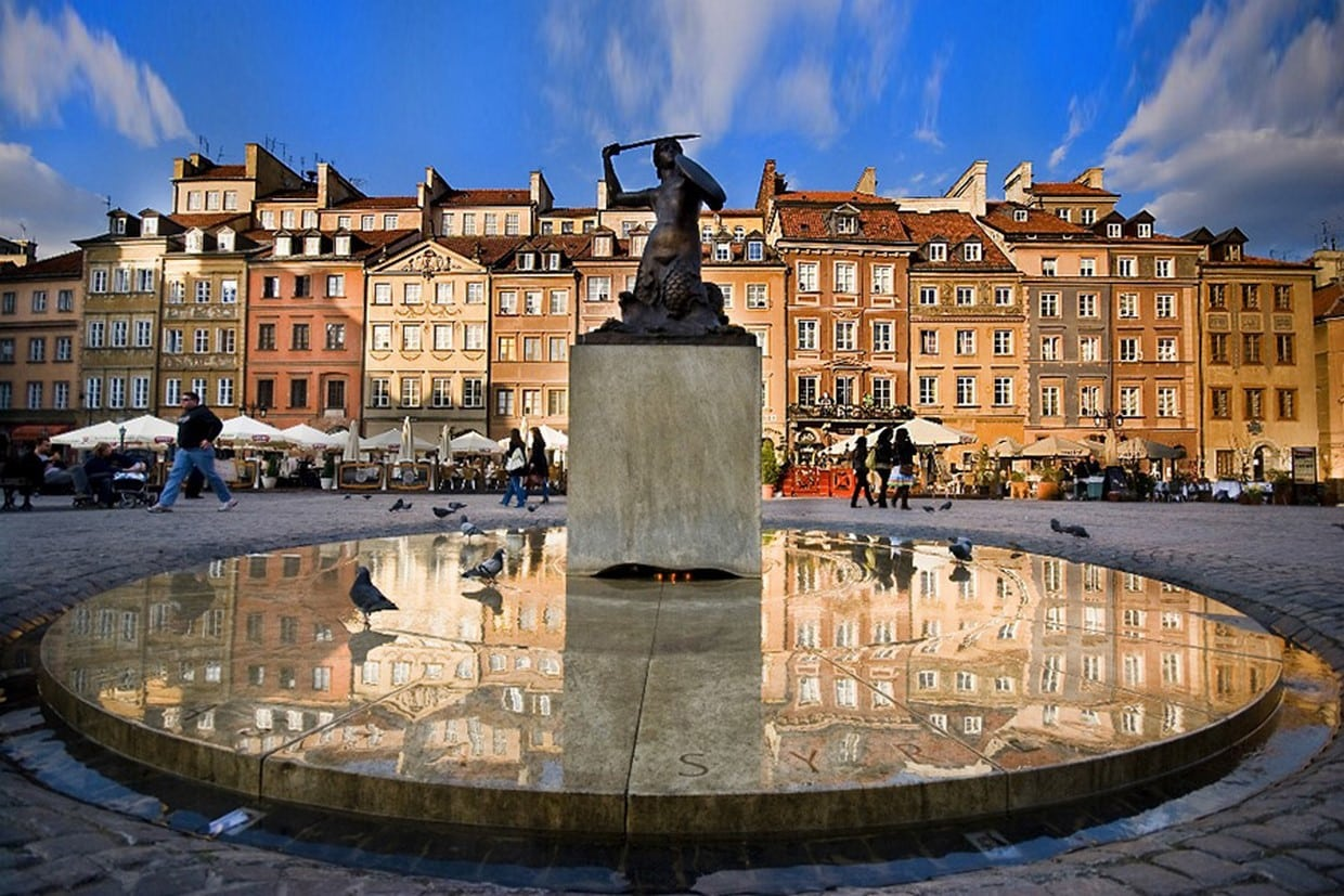 Royal Castle with Warsaw Old Town + Lazienki Park 1