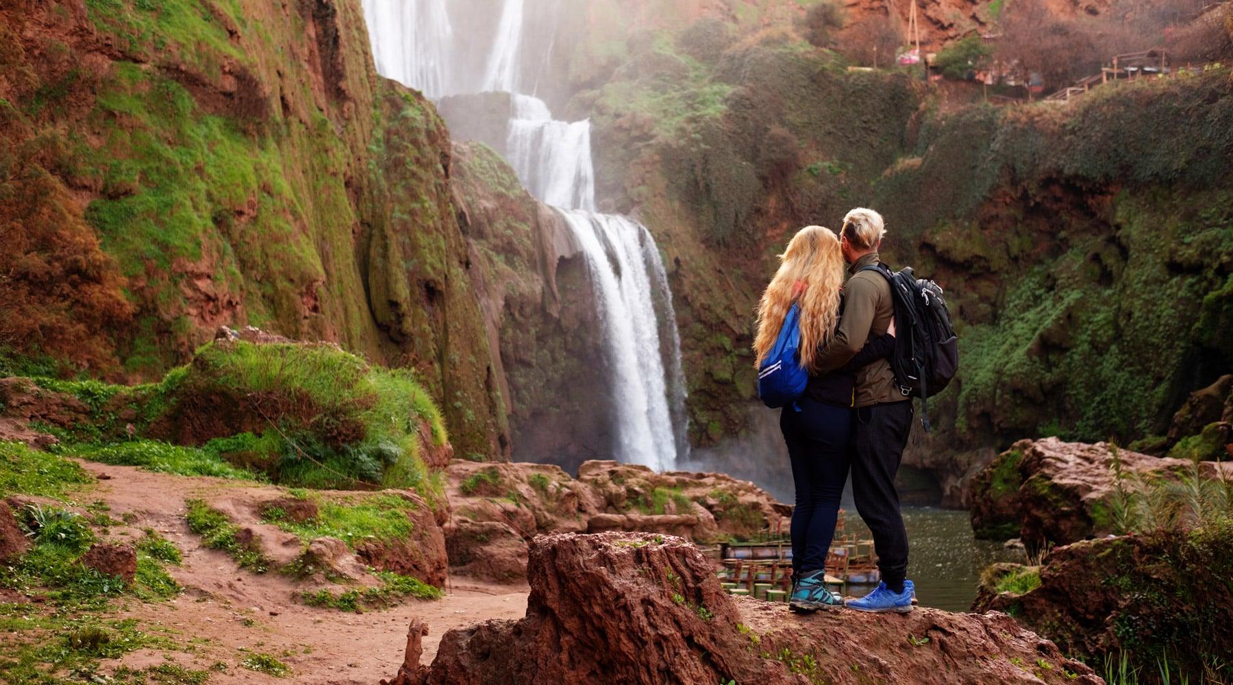 Ouzoud Waterfall – Amazing Desert Waterfall in Morocco