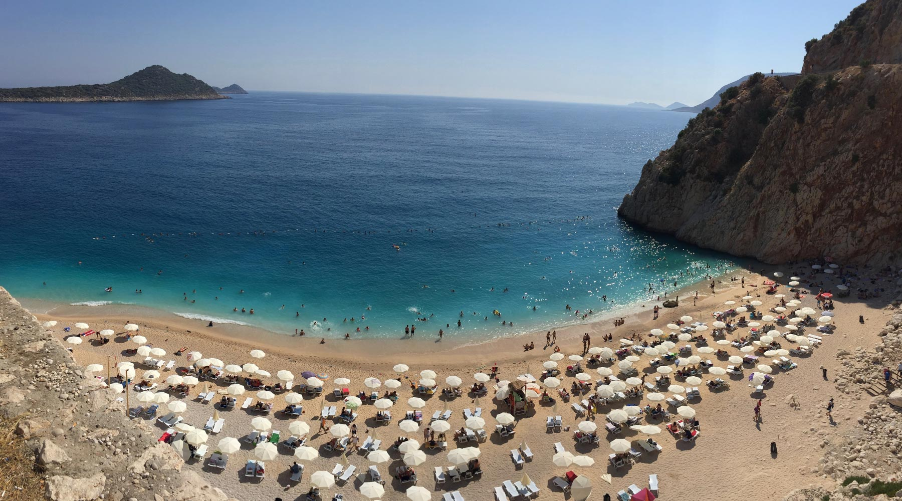 Kaputaş Beach – A Picturesque Beach in Kaş, Antalya, Turkey