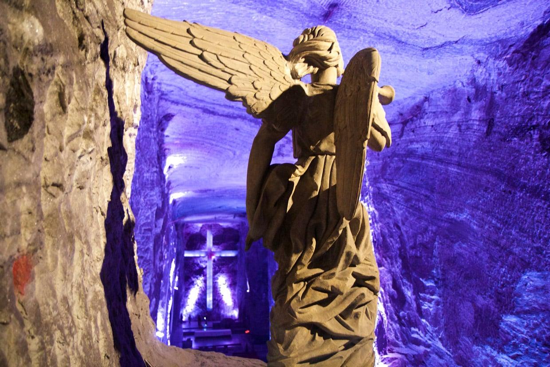 Underground Salt Cathedral