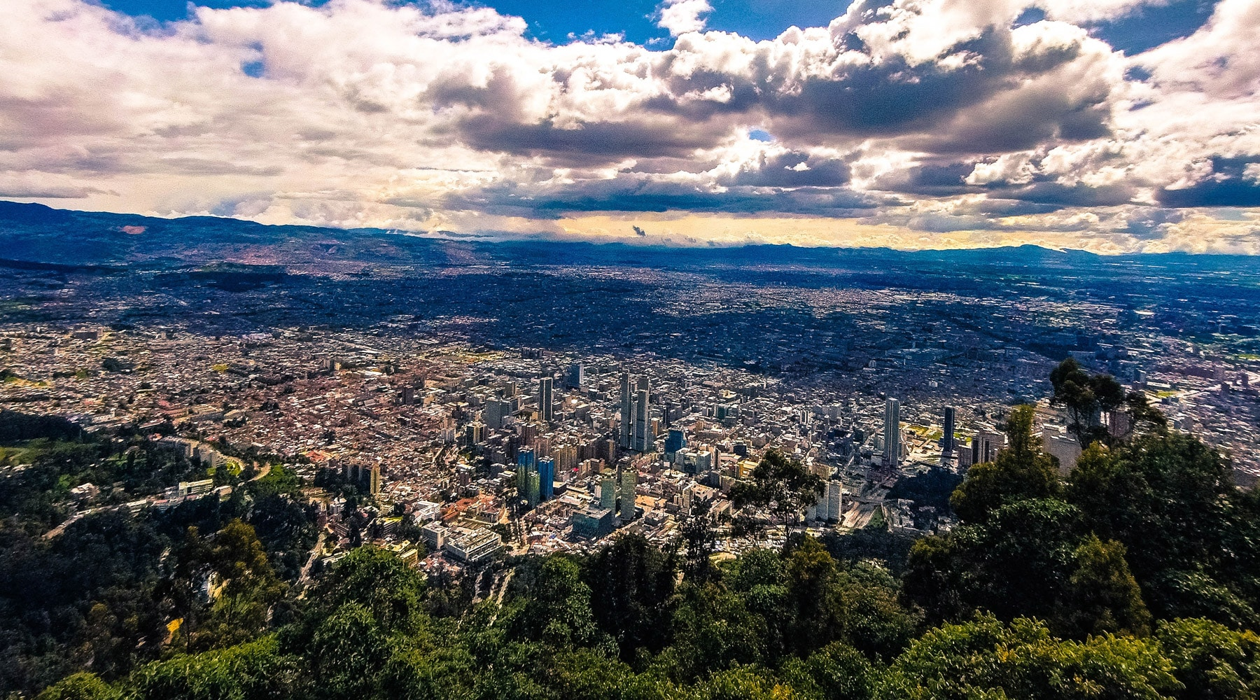 Monserrate, Colombia – The Mountain That Dominates Bogota