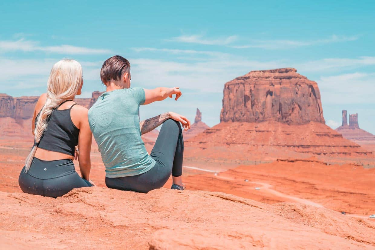 A Couple in Monument Valley