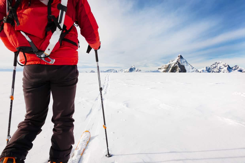 Skiingin Glacier National Park