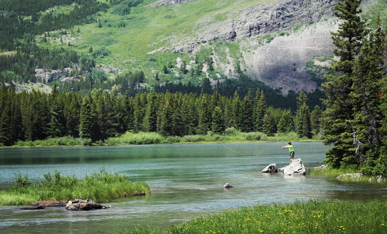 Fishing in Glacier National Park