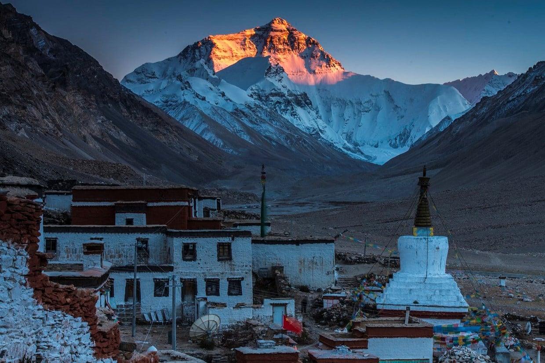 Tibet Adventure Tour to Everest BC 8