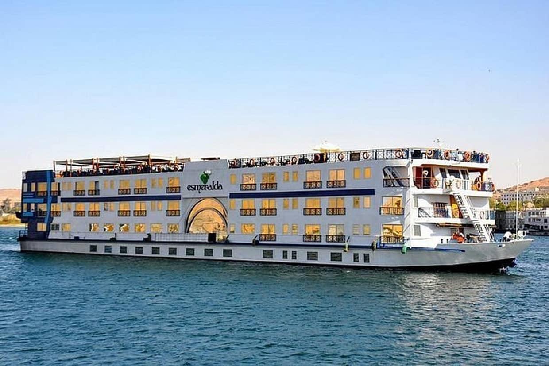 Nile Cruise Luxor to Aswan & Abu Simbel + Train Ticket from Cairo 1