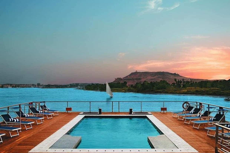 Nile Cruise Luxor to Aswan & Abu Simbel + Train Ticket from Cairo 6