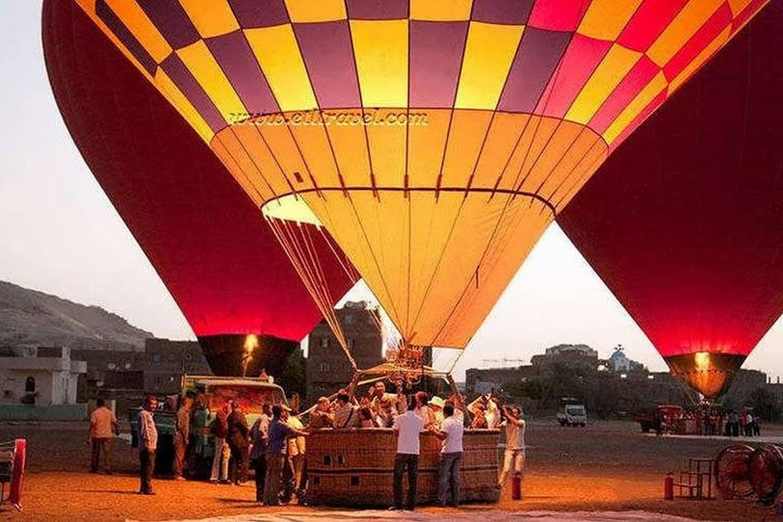 Pyramids, Cairo, Luxor, Cruise, Balloon, Edfu, Aswan, Abu Simble Tour 1