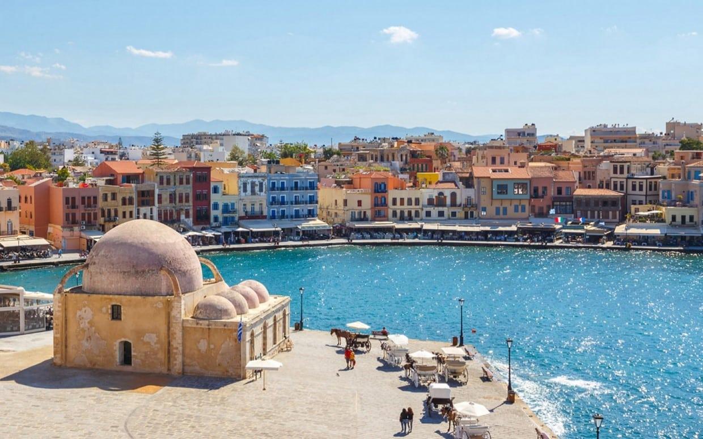 Gastronomy and Sceneries of Crete 1