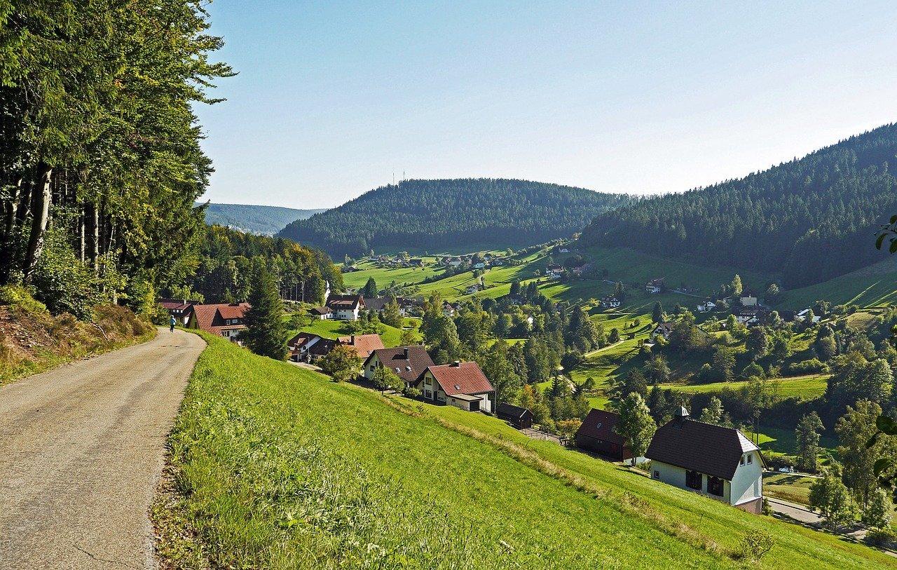 Baiersbronn in Black Forest
