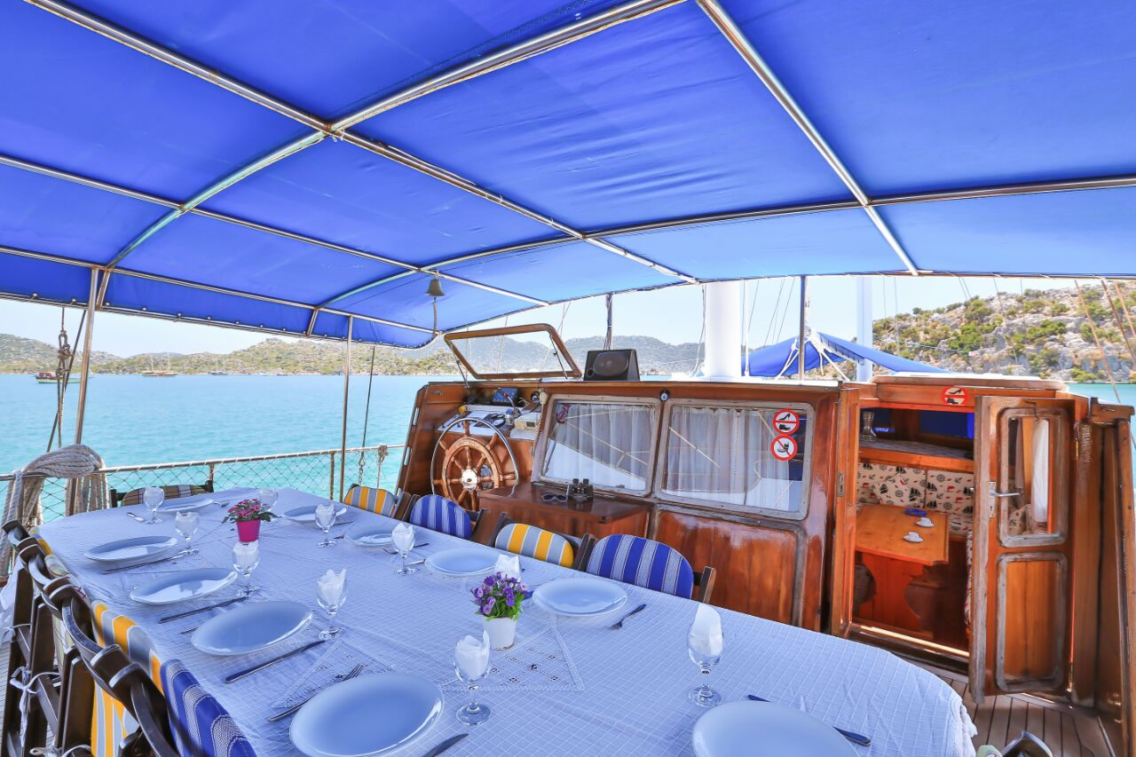 4 Day Blue Escape Cruise Tour from Fethiye to Gocek 6