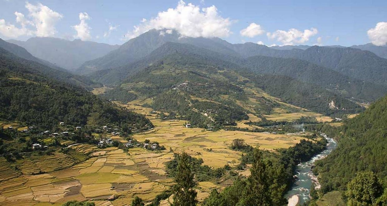 A Cultural Journey With Nature Trek in Central Bhutan+Mountain Flight 2