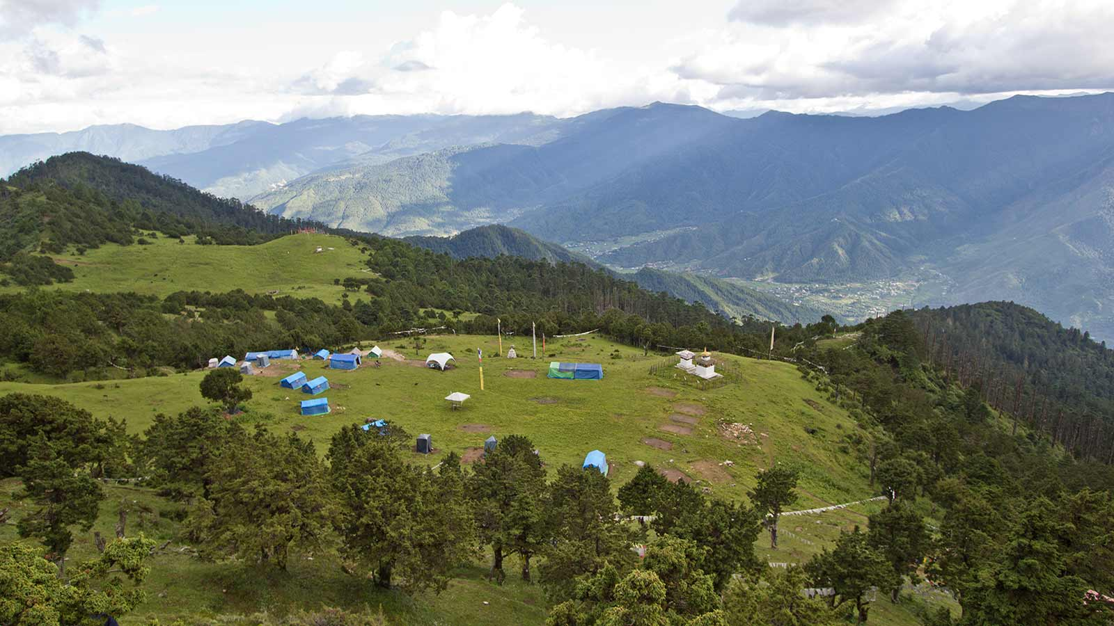 Bumdrak campsite, Bhutan