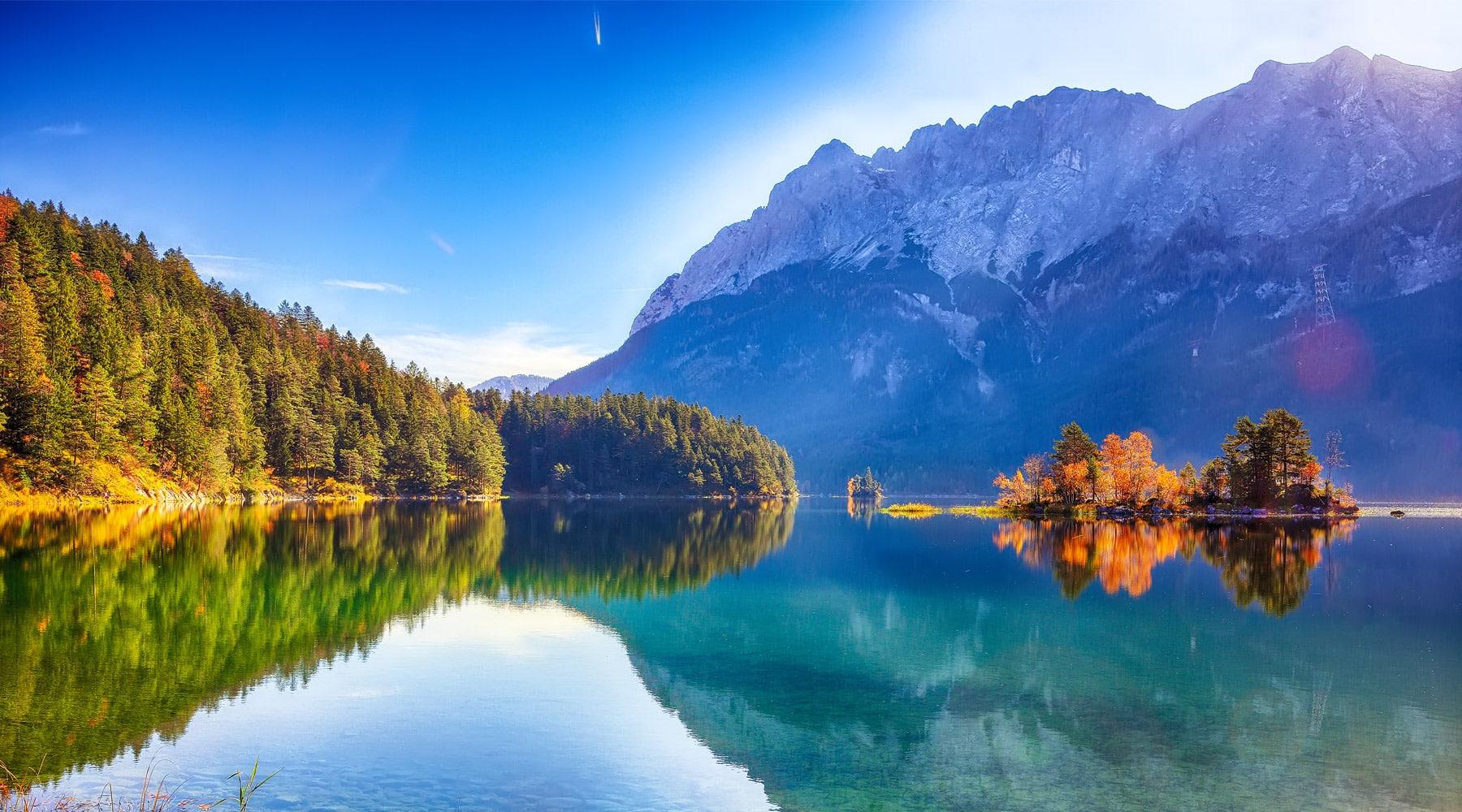 Zugspitze Mountain – Germany's highest peak