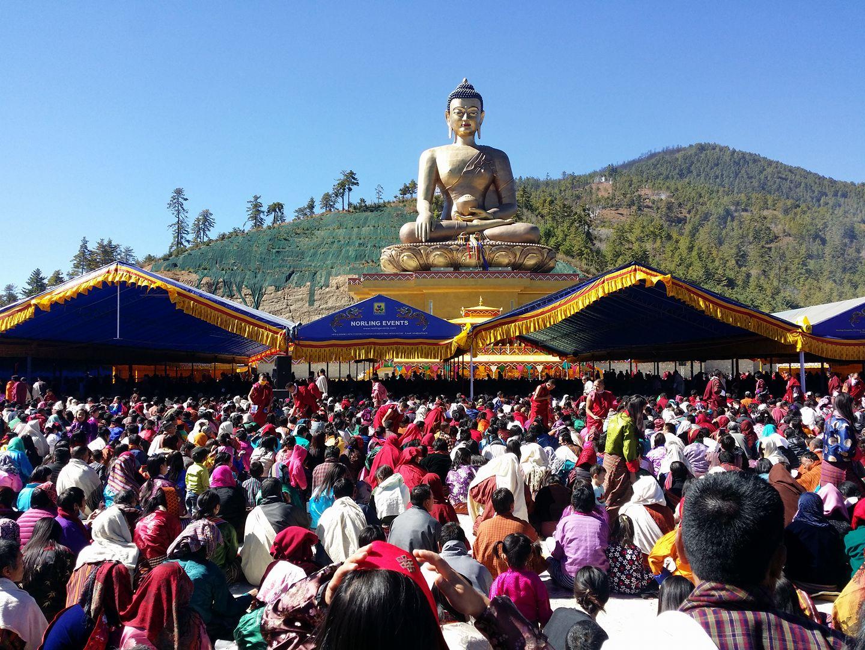 Buddha Dordhenma Statue in Thimphu