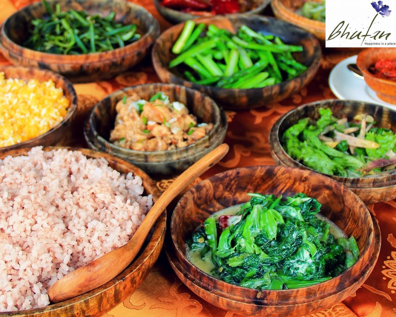 Traditional food of Bhutan