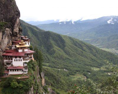 Paro Taktsang Monastery also know as Tiger's Nest