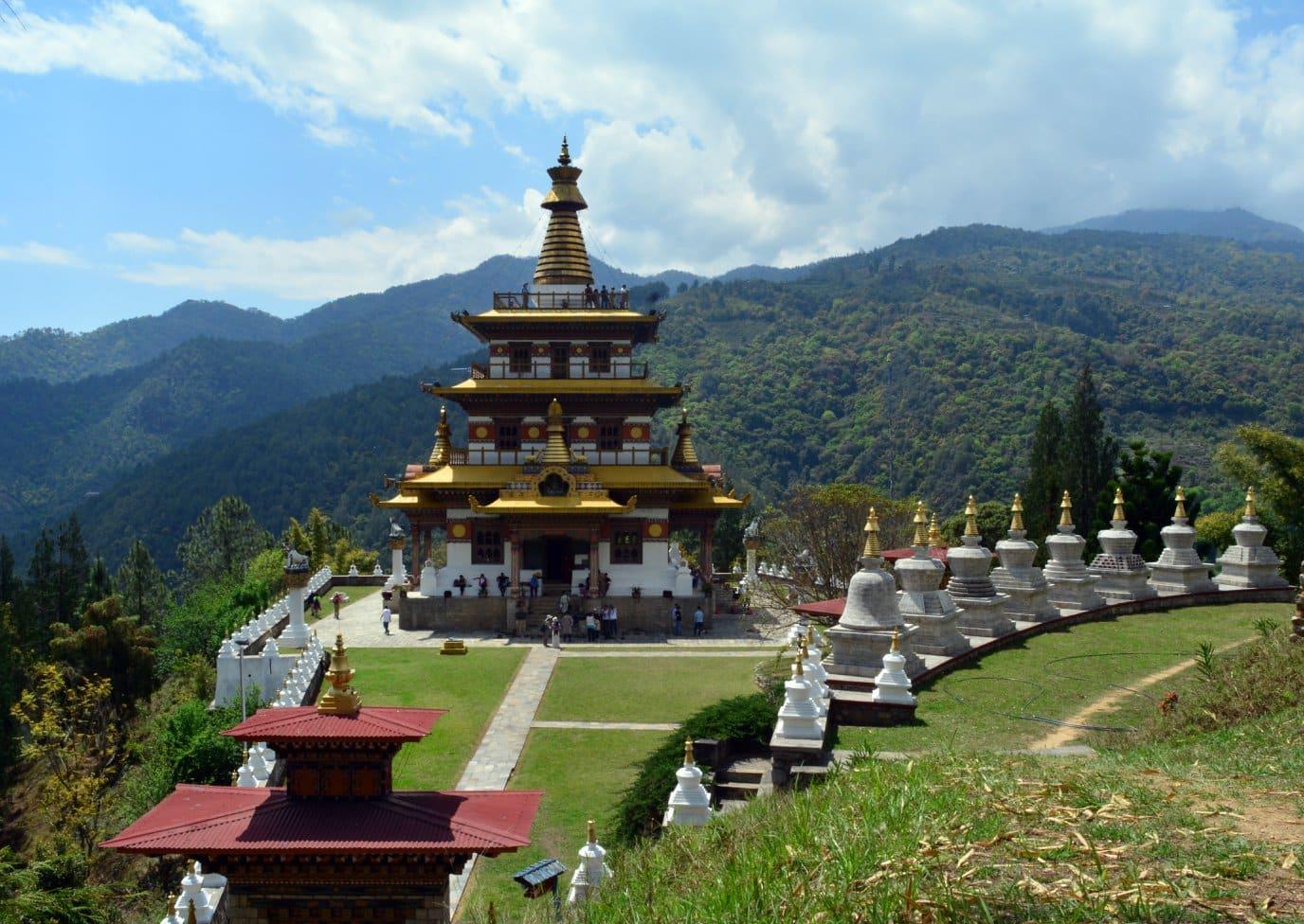 Khamsum Yuelley Namgyel Chorten in Punakha Valley