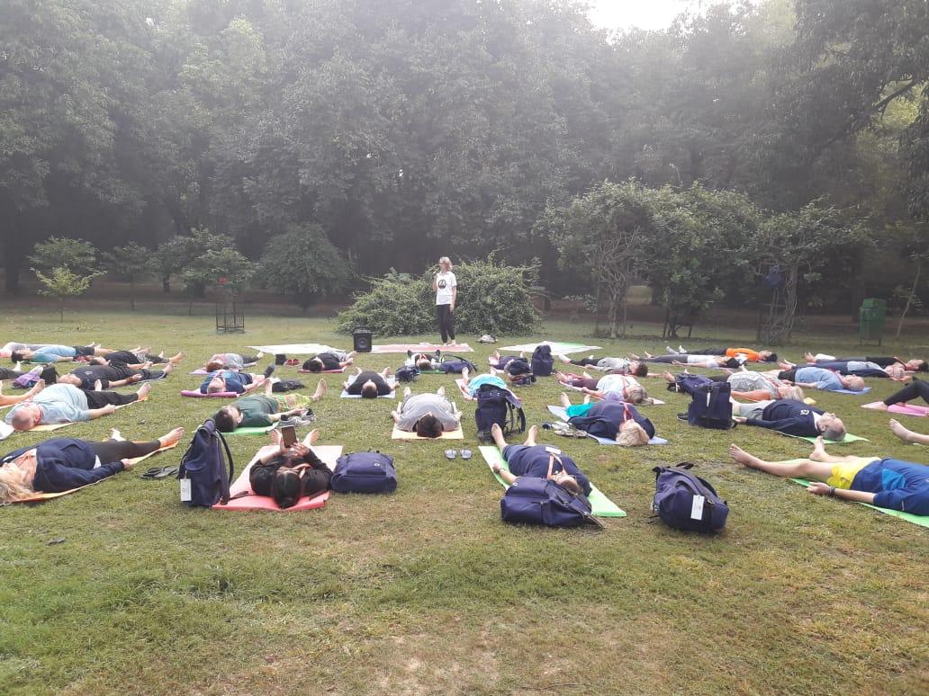 Yoga Tour to India 1